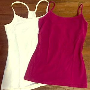 Two Express bra camis
